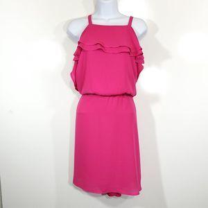 Maurices Ruffle Top Cinch Waist Dress Size 0